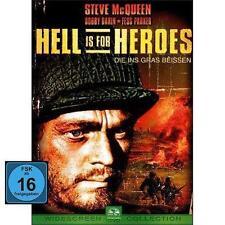 DVD HELL IS FOR HEROES - DIE INS GRAS BEISSEN - STEVE MCQUEEN - KRIEGSFILM * NEU