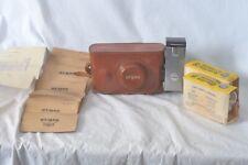 Argus C3 camera, case, flash flashbulbs & more! Mint shape 35mm