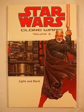 Star Wars Clone Wars Vol.4: Light and Dark Trade Paperback First Edition 2004
