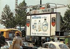 Belgium Bruxelles Street Vintage Cars Voitures Advertising Panel Williams