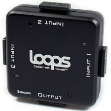 LOOPS® HDMI 3 Port/Way Switch Box - 1080P/3D - Source Selector Splitter Hub