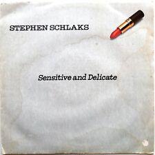 VINILE LP 33 GIRI RPM SENSITIVE AND DELICATE STEPHEN SCHLAKS ITALY 1979 BR 56000