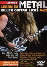 Lick Library Learn 50 Metal Killer Guitar Licks Vol2 Video Dvd Lesson Andy James