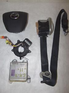 MAZDA CX7 CX-7 2010-2011-2012 DRIVER LEFT STEERING BAG SEAT BELT MODULE 22674