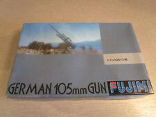 Fujimi 38033 German 105mm Gun 1:76 Bausatz