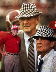 Paul Bear Bryant Alabama Crimson Tide NCAA Football Art 01 CHOICES 8x10 - 48x36
