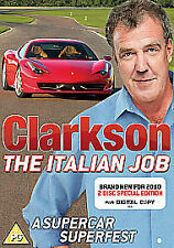 Clarkson - The Italian Job (DVD, 2010, 2-Disc Set) NEW & SEALED Special Edition