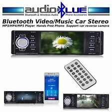 AudioBlue Bluetooth Car Video/Music Stereo MP3 / MP4 / MP5 Player  -  BLACK