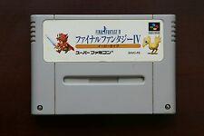 Super Famicom SFC Final Fantasy 4 IV easy version Japan SNES game
