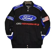 Authentic Ford Performance  Embroidered Cotton Jacket JH Design Black