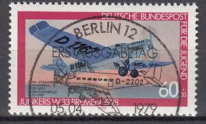 BRD 1979 Mi. Nr. 1007 gestempelt BERLIN Sonderstempel , mit Gummi TOP! (17537)