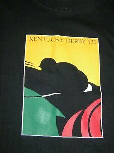 Kentucky Derby 131 Men's Short Sleeve Crewneck 100% Cotton T-shirt- XL