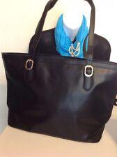 BLACK SHOULDER BAG extra large Color Gorgeous with Adjustable Straps