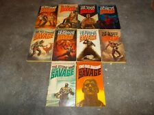 DOC SAVAGE ACTION SERIES~KENNETH ROBESON~TEN CONSECUTIVE BOOKS~81 THROUGH 90