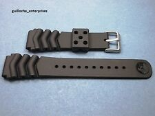 NEW SEIKO Z-22 VENT REPLACEMENT RUBBER BRACELET FOR 7002, 6309, 6306, 7548