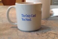 Vintage Pacific Telephone Convenient Calling Card Coffee Cup