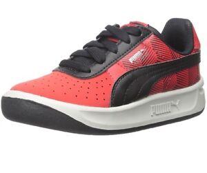 New NIB Puma GV Special Geofetti Jr High Risk Red Black Youth Boy Sneaker 361100