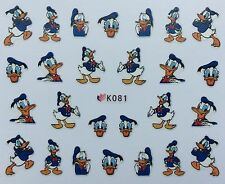 Nail Art 3D Decal Stickers Duck K081