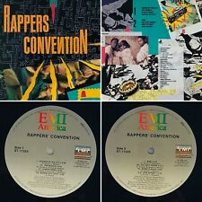 Rappers Convention EMI America ST-17225 Vinyl (VG+) Tested