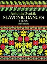 SLAVONIC DANCES, OP. 46 IN FULL SCORE By Antonin Dvorak *Excellent Condition*
