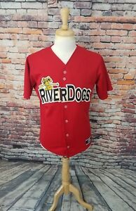 Minor League NY Yankee Affiliate Charleston Riverdogs Baseball Jersey Sz Men's S