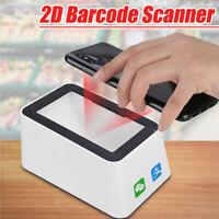 1D 2D QR USB CCD Barcode Scanner Reader QR Code Barcodescanner Screen Scanner