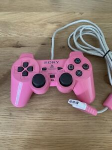 Official Sony Playstation 2 PS2 Dualshock Controller Pink