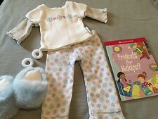 American Girl Snuggly Snow PJs Set - NIB - ALL ACCESSORIES INCLUDED AND BOOK!