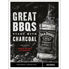 JACK DANIELS GRILLING POSTER 18 BY 24