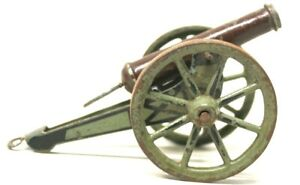 """ANTIQUE EARLY MARKLIN """"6 POUNDER"""" NAPOLEONIC STYLE SPRING LOADED CANNON"""
