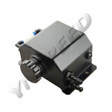 Aluminum Alloy 1L Coolant Radiator Overflow Recovery Water Tank Bottle Black AU