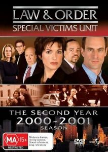 Law And Order - Special Victims Unit : Season 2 (DVD, 2006, 6-Disc Set)