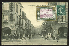 Pioneer Aviation: France: 1910 Charleville Meziers, card with tied vignette