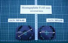 Montageplatte für Aussenspiegel Fi-85mm Universal Klein EU Halter Schnitzer