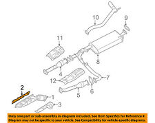 NISSAN OEM Exhaust-Manifold Gasket 140367S001