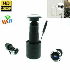 4K HD Wireless WiFi Door Peephole Camera Motion Detect Recording For Smartphone