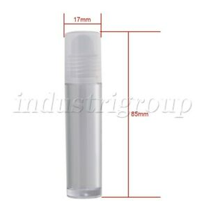 20PCS Transparent 10ml Frosted Glass Roller Bottles Roller ball Essential Oils