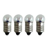 10PCS/Set Miniature Screw Base Light Bulb E10 2.5V/0.3A Lamp Flashlight Torch CN