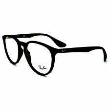 Ray-Ban Glasses Frames 7046 5364 Rubberised Black Clear
