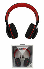 DS18 HDPBT Noise Isolating Foldable Bluetooth Headphone w/ Mic and FM Radio