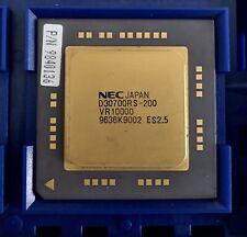 Processor CPU Mips R10000 200 Mhz 180 MHz SGI Silicon Graphics O2 Octane Indigo