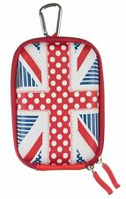 UNION JACK England Compact Digital Camera Case Protective Hard Shell Universal