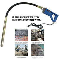 110V Hand Held Electric Concrete Vibrator Construction Tool Air Bubble Remover