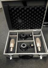 2 x AKG C3000B Großmembran Kondensator Mikrofon inklusive Spinne/Made in Austria