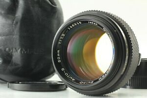 【EXC +5 Late Model】 OLYMPUS OM System Zuiko Auto-S 50mm F/1.2 From JAPAN #1671-1