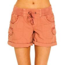 Size 6 Womens Rip Curl ALMOST FAMOUS II SHORT Casual Shorts - GWAAY1 Rust #SALE