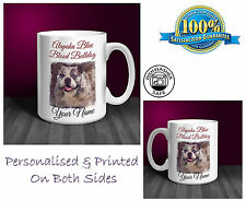 Alapaha Blue Blood Bulldog Personalised Ceramic Mug: Perfect Gift. (D236)