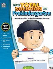 Your Total Solution for Prekindergarten Workbook