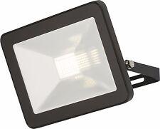 Knightsbridge LED Foco de seguridad 30w IP65 Negro Metálico Aluminio Delgado