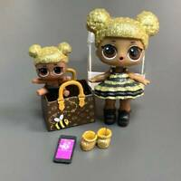Ultra Rare LOL Surpise QUEEN BEE & LIL DOLL & BAG Toys Original Jouets